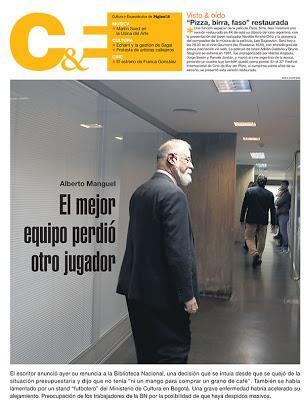 Démission confirmée de Alberto Manguel à la tête de la Biblioteca Nacional [Actu]
