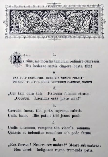 Cupressi: les distiques de Karl Heinrich Ulrichs en hommage au défunt roi Louis II de Bavière