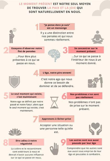 9 leçons pour le moment présent