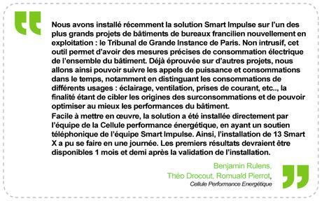 Smart Impulse, une solution «eco-friendly» pour maîtriser les consommations électriques d'un bâtiment
