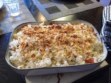 Avec un reste de riz… – Gratin de légumes nouveaux