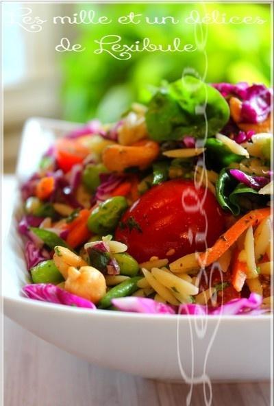 ~Salade d'orzo à l'asiatique~