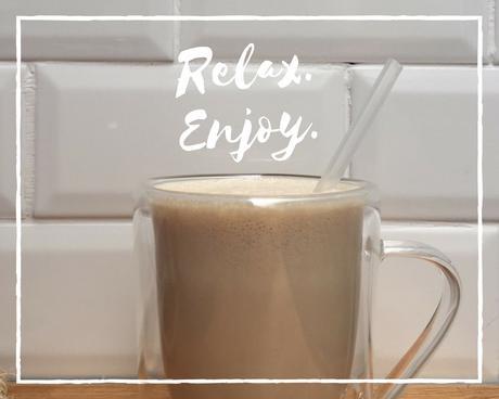 boisson d'été café glacé