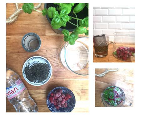 boisson d'été thé glacé maison