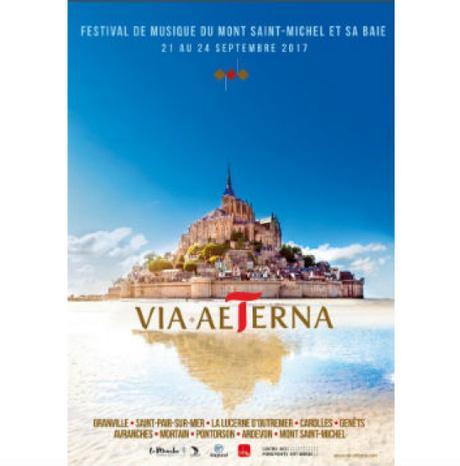 #Concert - VIA AETERNA en Septembre 2018 en Baie du Mont Saint-Michel !