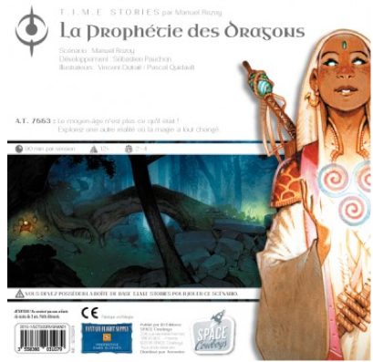 T.I.M.E Stories, la Prophétie des Dragons. Attention ça Glyphe! Chez les Space Cowboys