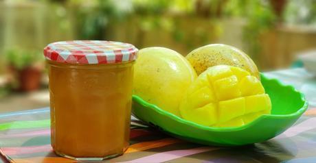 Confiture à la mangue