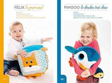 Livre : Doudous et accessoires en couture pour enfants