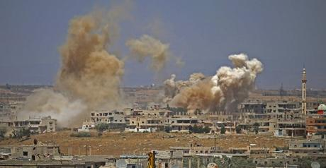 Reprise des bombardements dévastateurs de l'aviation syrienne et russe dans la province de Deraa