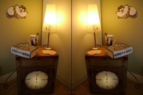 Alice au Pays des merveilles : De quel côté du miroir exactement ?