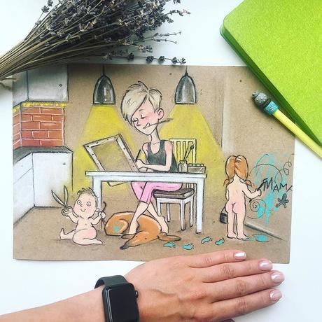 Cette maman illustre son quotidien avec des dessins et tous les parents s'y reconnaîtront