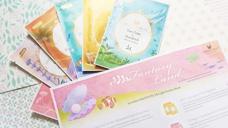 "New Collection Annie's Way -  Masques en Soie ""Fantasy Land"""