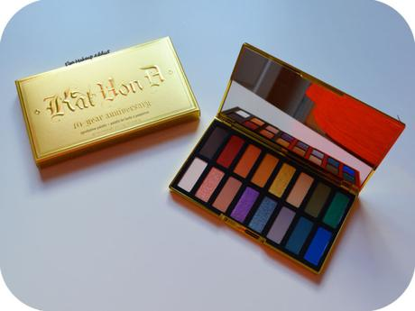 Kat von D 10-Year Anniversary : la palette !