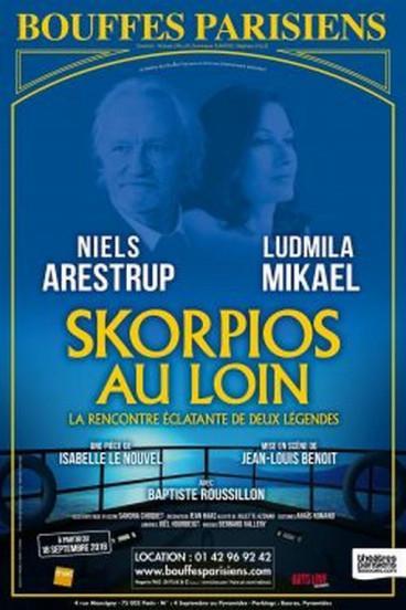 Skorpios au loin, aux Bouffes parisiens à partir du 18 septembre prochain