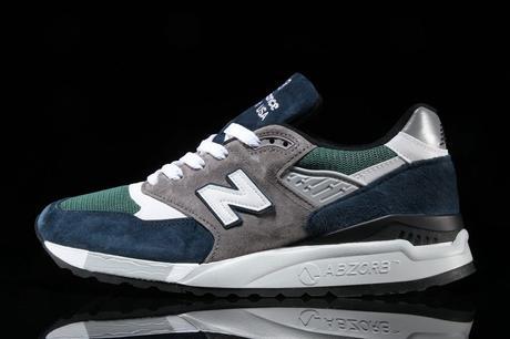 New Balance 998 Teal Navy