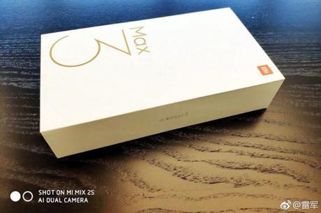 Le Xiaomi Mi Max 3 arrive bientôt !