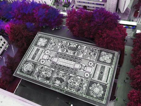 Rennes : les tapis et mandalas de béton d'Arthur-Louis Ignoré