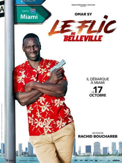 Le flic de Belleville, affiche et Bande annonce