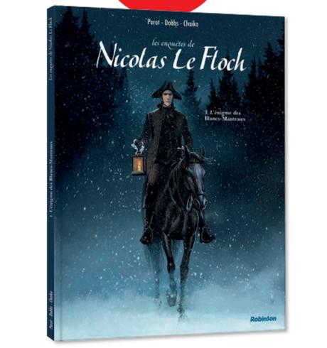 Nicolas Le Floch, adapté en Bd