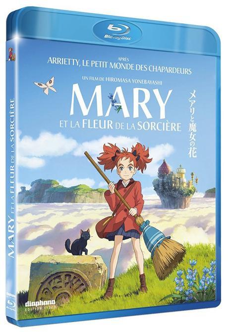 Critique Bluray: Mary et la Fleur de la Sorcière