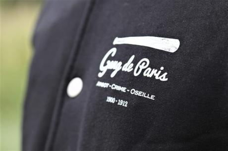 Veste Teddy Gang de Paris détails