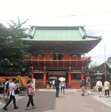 En promenade : Le sanctuaire Kada Myojin à Tokyo