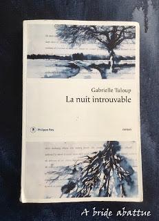 La nuit introuvable de Gabrielle Tuloup
