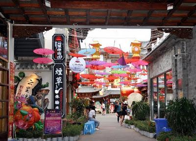 Une promenade dans les rues de Dali, Yunnan