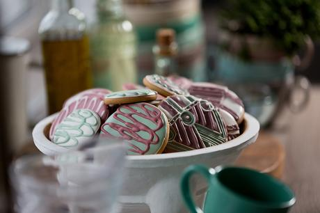 Gingerbread, le projet de design d'espace inspiré de glaçage de pain d'épice de Fateeva Design