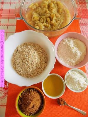 Carrés croustillants à la Rhubarbe (Vegan)