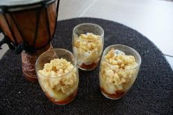 recette du jour: Crumble de courgette, chorizo  au thermomix de Vorwerk