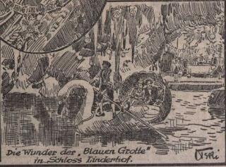 50. Todestag König Ludwigs II. in der Kronen Zeitung - Juni 1936.