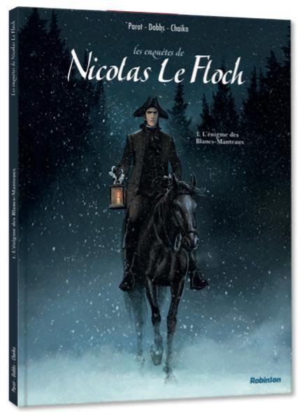 Nicolas Le Floch adapté en bande dessinée