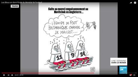 Dessin Ysope sur France 24...