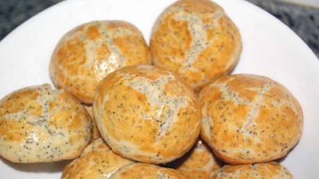 Brioches aux graines de pavot avec thermomix