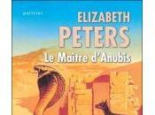 Maître d'Anubis d'Elizabeth Peters