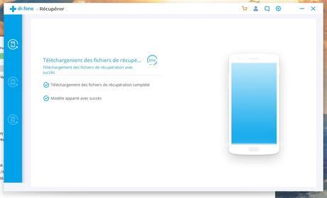 Récupérer les données sur téléphone Samsung
