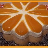 Entremet Chocolat blanc et Abricot - Oh, la gourmande..