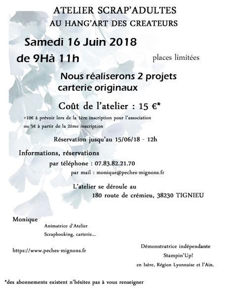 Atelier Adultes du 16/06/18