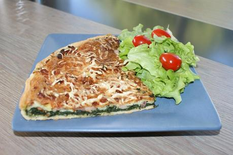recette du jour: Tarte épinard et lardons  au thermomix de Vorwerk