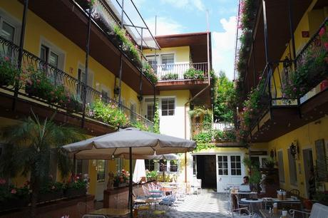 vienne vienna neubau am brillantengrund hôtel jardin caché cour intérieure