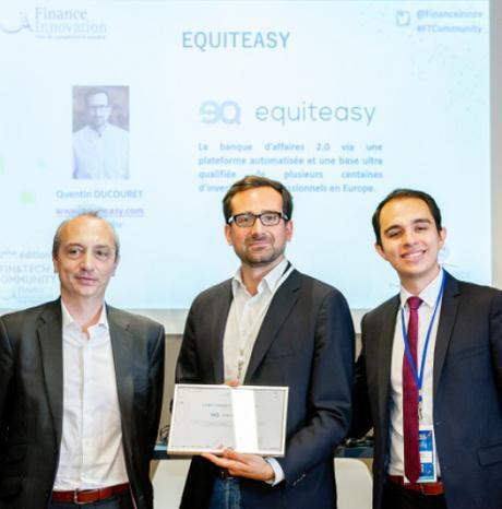 #Startup - #Equiteasy obtient le label Finance Innovation !