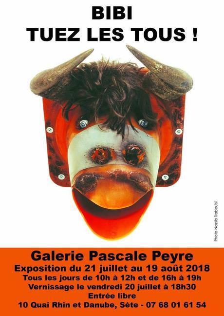 Sète   Exposition Bibi «Tuez les tous ! » à la Galerie Pascale Peyre
