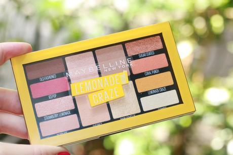 Lemonade Craze: la nouvelle palette parfumée signée Maybelline !