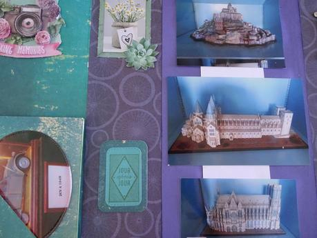 Avant dernières pages de l'album maquettes et miniatures
