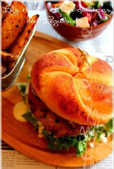 ~Porc-Burger à la grecque~