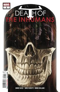 DEATH OF THE INHUMANS #1 : LA REVIEW