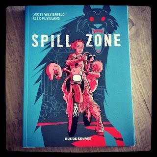 Spill Zone tome 1 de Scott Westerfeld illustré par Alex Puvilland