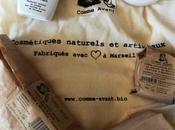 Test Comme Avant, cosmétiques artisanaux naturels