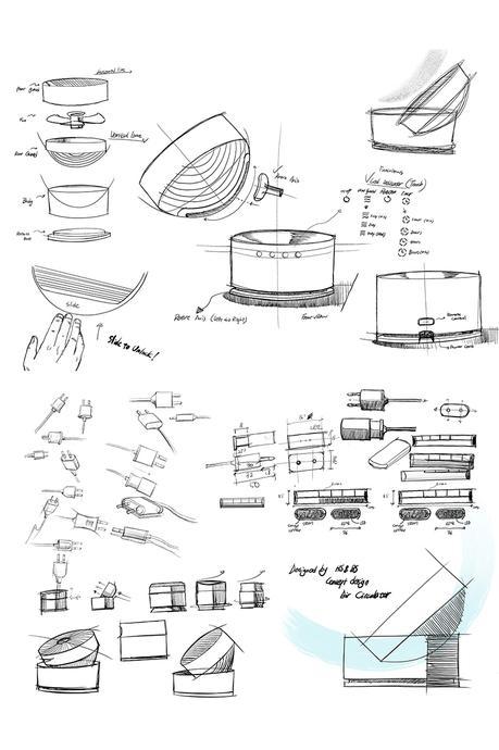 Slide, le ventilateur au concept «slide to unlock» par Hooseong Lee et Beomsic Jeon